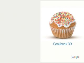 Google Cookbook 2009