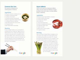 Google Cookbook 2009